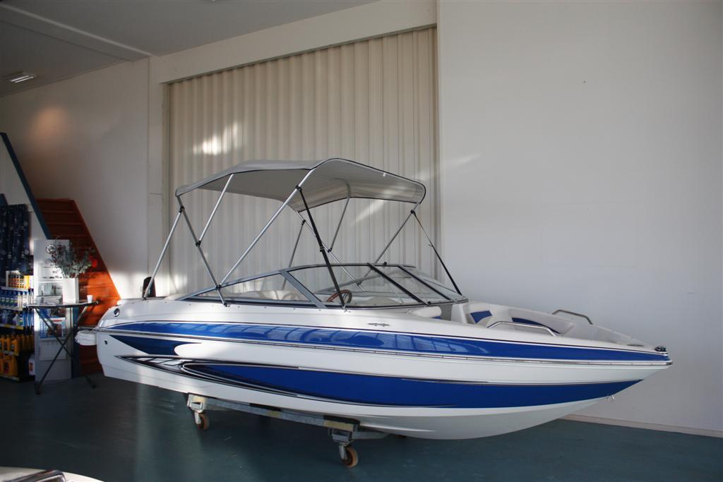 Schutzh/ülle 180 x 170 x 135 cm 180 x 190 x 135 cm Wei/ß Grau Polyester PVC wellenshop Bimini Top Sonnenverdeck Boot Venus inkl